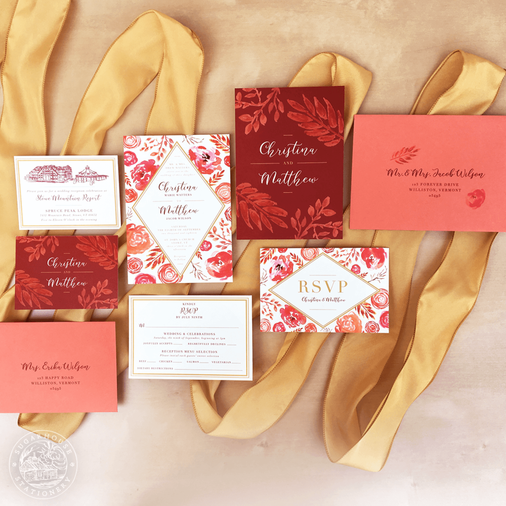 Charleston Invitation Suite