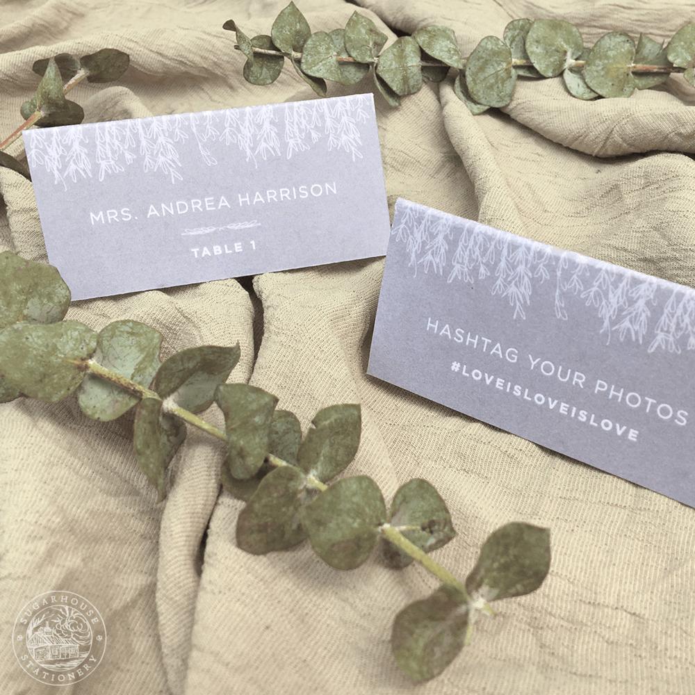 Mansfield Place Cards