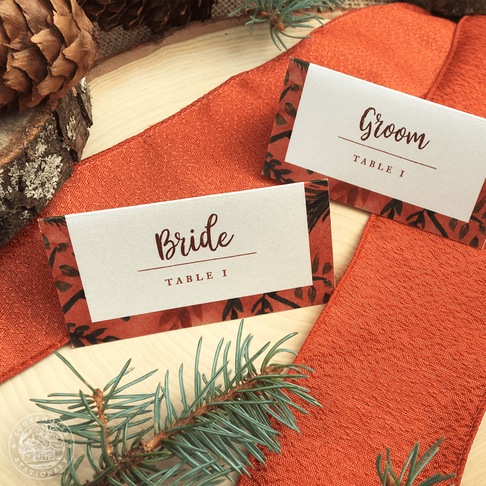 Pocono Place Cards