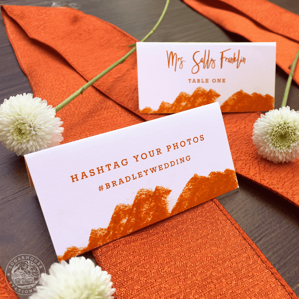 Arches Place Cards