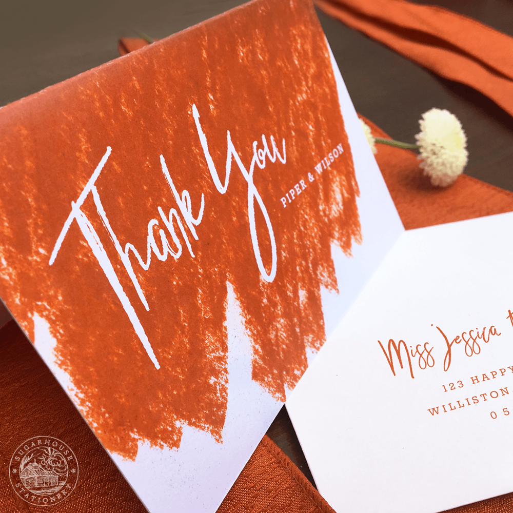 Arches Thank You Cards