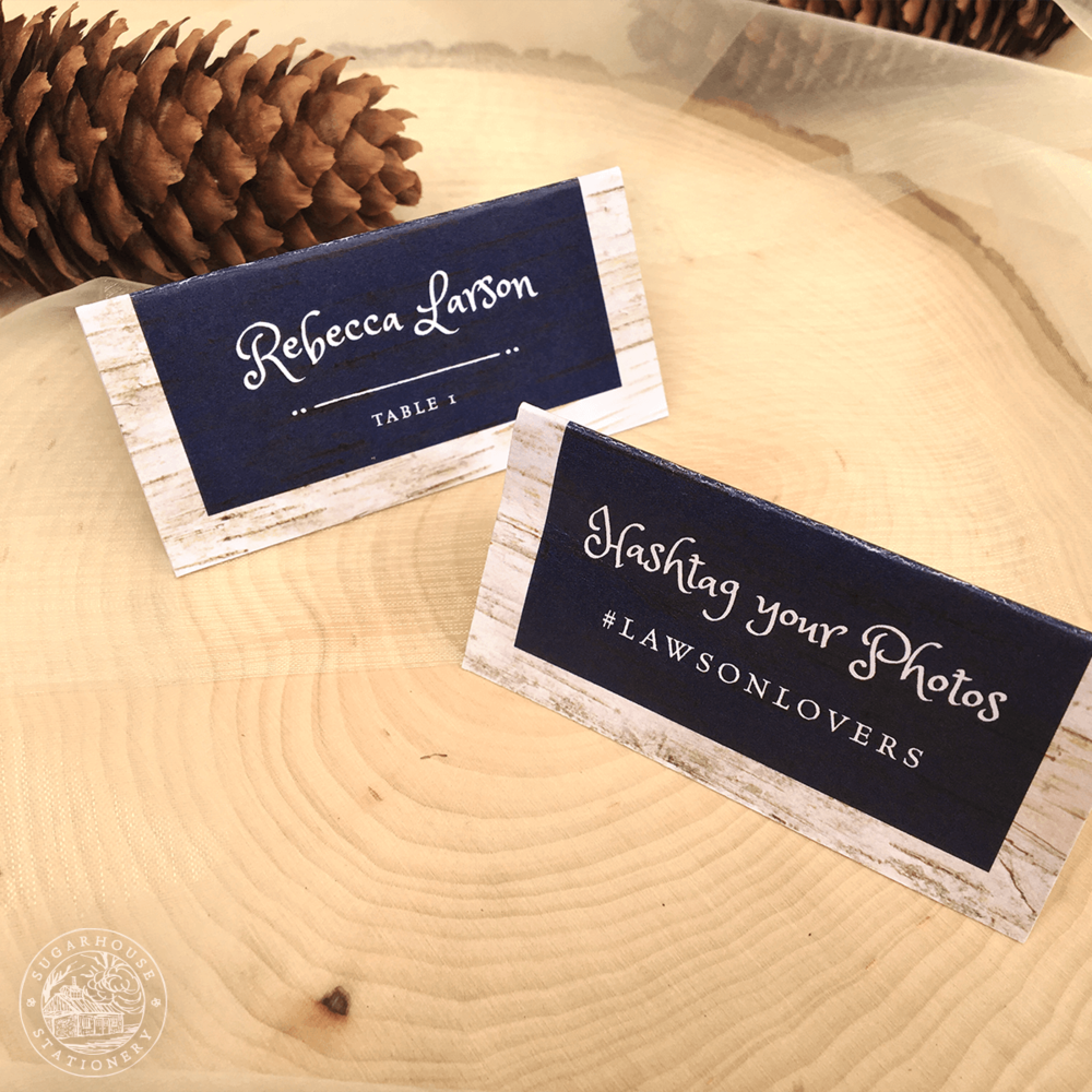 Dorr Place Cards