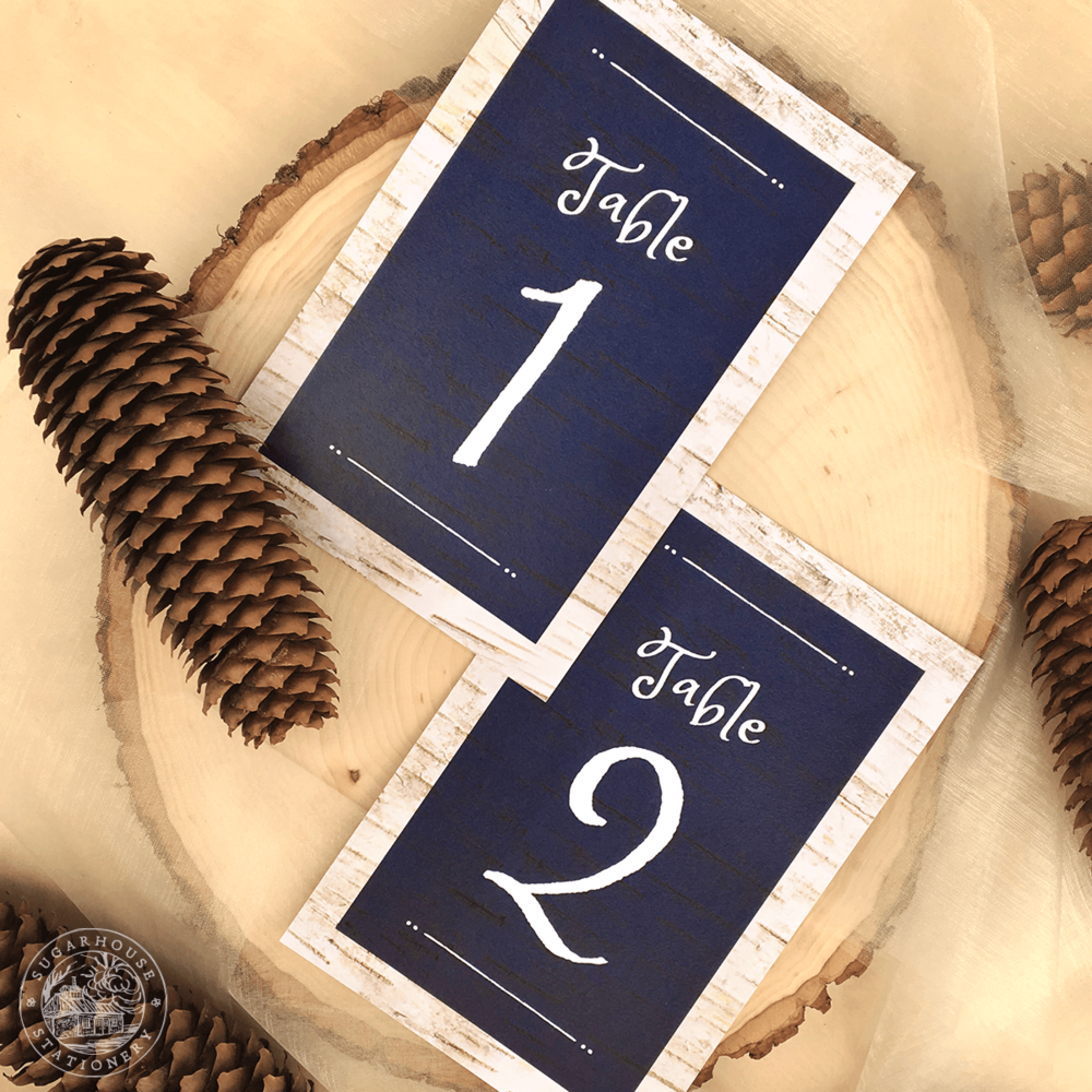Dorr Table Numbers
