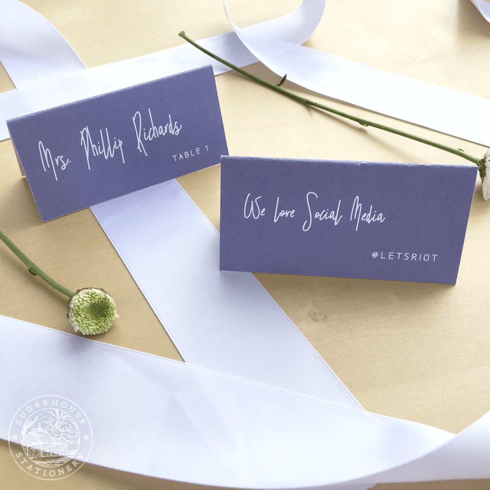 Killington Place Cards