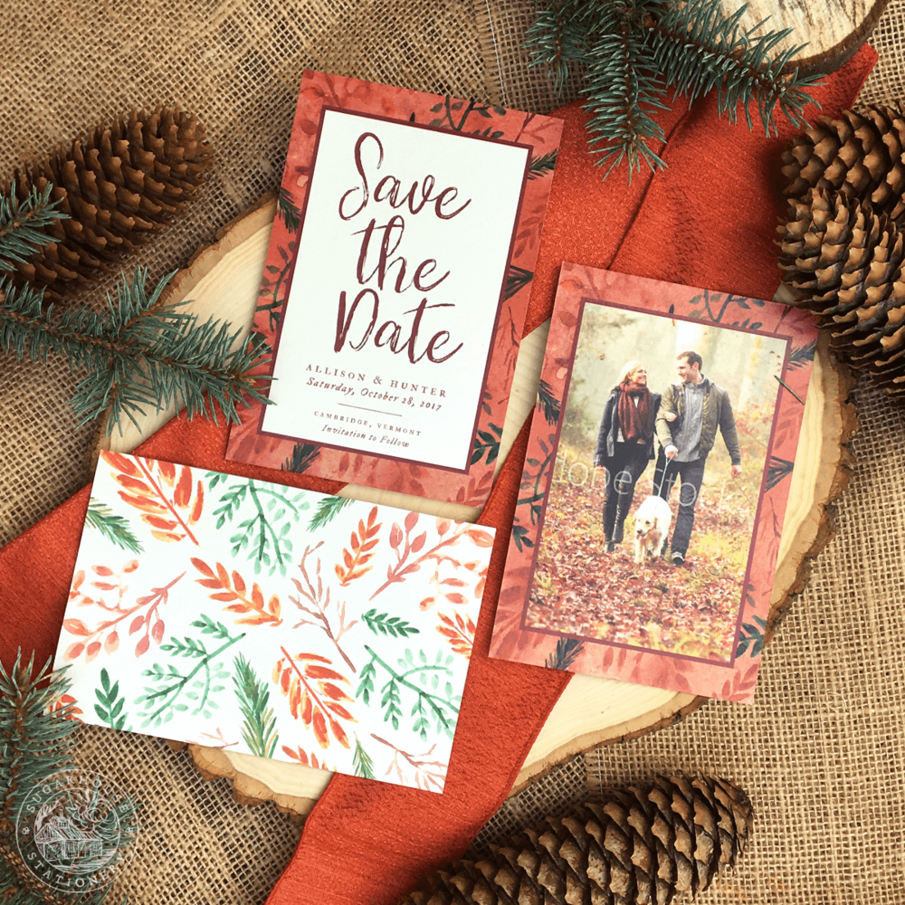 Pocono Save The Dates