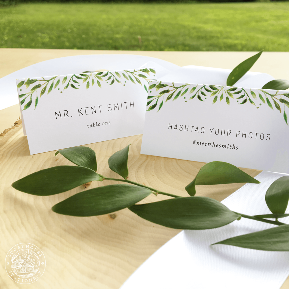 Waitsfield Place Cards