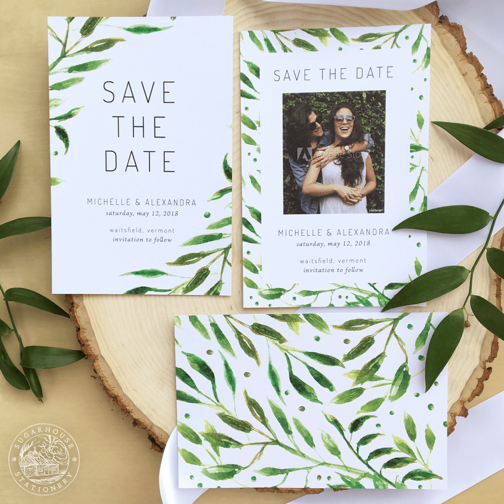 Waitsfield Save The Dates