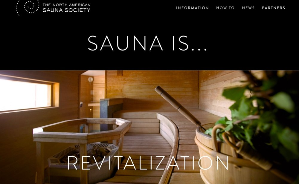 website example North American Sauna Society
