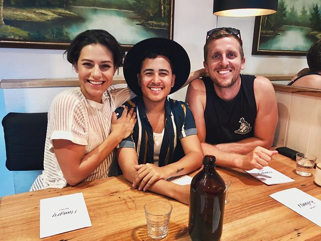 """🥂 Had an epic day of nonsense and gibberish with these cuties! Thanks for showing me what #Melbourne is all about. """"Estamos los perfictestos frensionales."""" 😂 #jamsepicaussieadventure #fitzroy"""