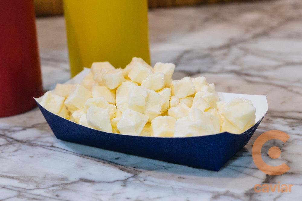 Fresh Cheddar Cheese Curds