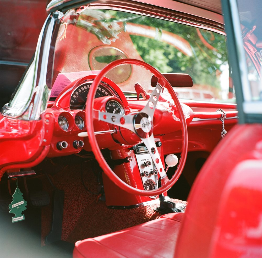 While it still has muted colors Portra still loves reds!