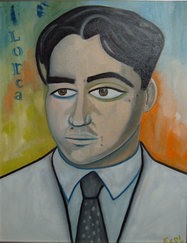 Federico Garcia Lorca  | oil on canvas