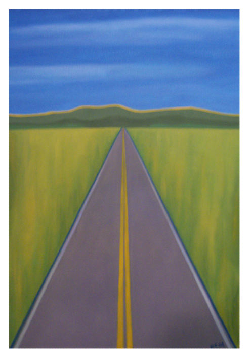 High Road Capital Partners 5   | oil on canvas