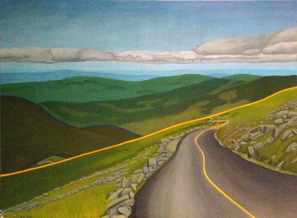 High Road Capital Partners 7   | oil on canvas