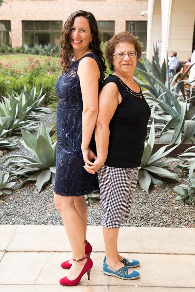 Kristin and mom
