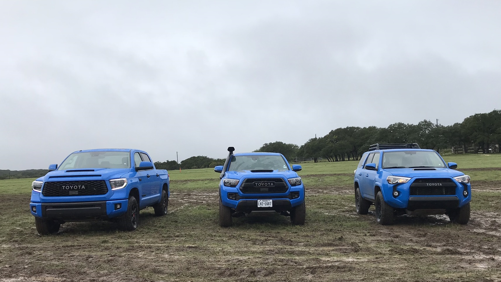 Voodoo Blue And Army Green Too Toyota S Trd Line Kristin V Shaw
