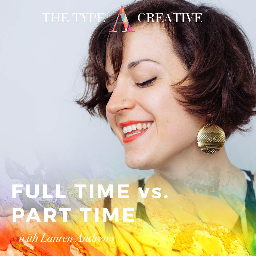 Podcast Interview - I recently had the pleasure of hanging out with Jenni Heffernan Brown on The Type A Creative! We talked about my decision to jump into art full time, how I cultivate my creative practice, and the way I use fear as a guide. Check it out!