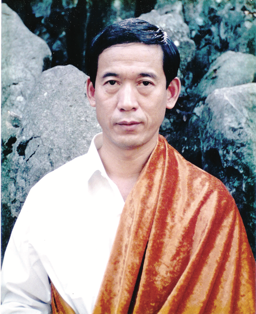 Grandmaster Fu Wei Zhong in the mid-1990s