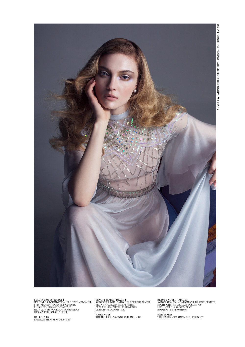 Skyler Samuels shot by Thom Kerr for Laud Magazine
