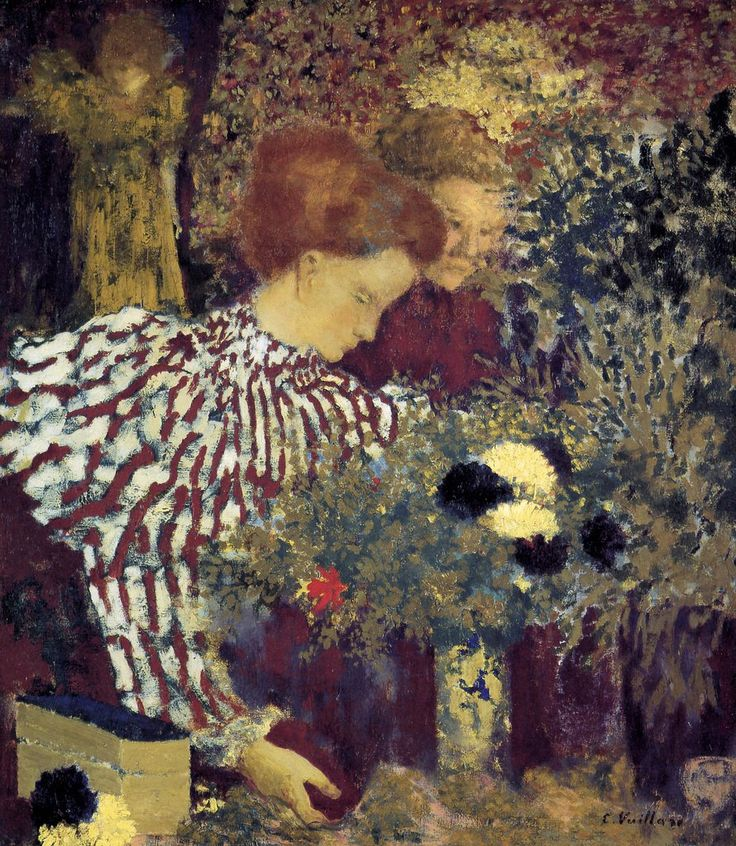 The Striped Blouse by Edouard Vuillard