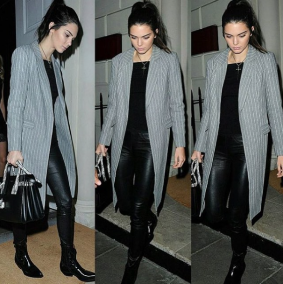 Kendall Jenner wears C/MEO COLLECTIVE 'The Days Blazer'.