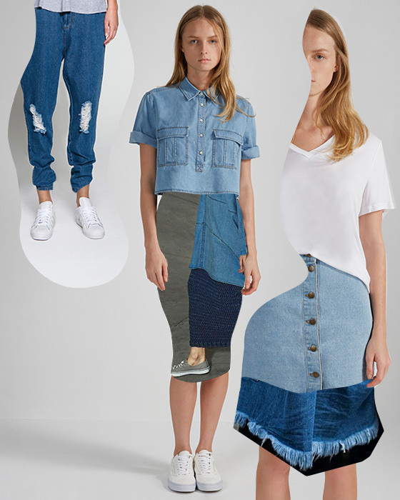 Shop all denim on BNKR.
