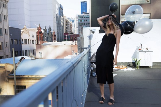 Shop C/MEO COLLECTIVE Playmate Dress as featured by The Grey Attic x BNKR.