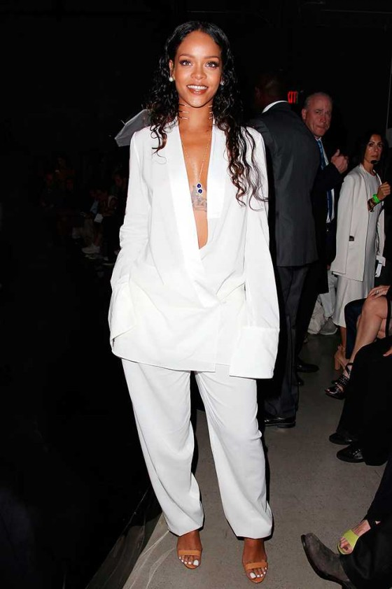 Rihanna in Edun- image via Tumblr.