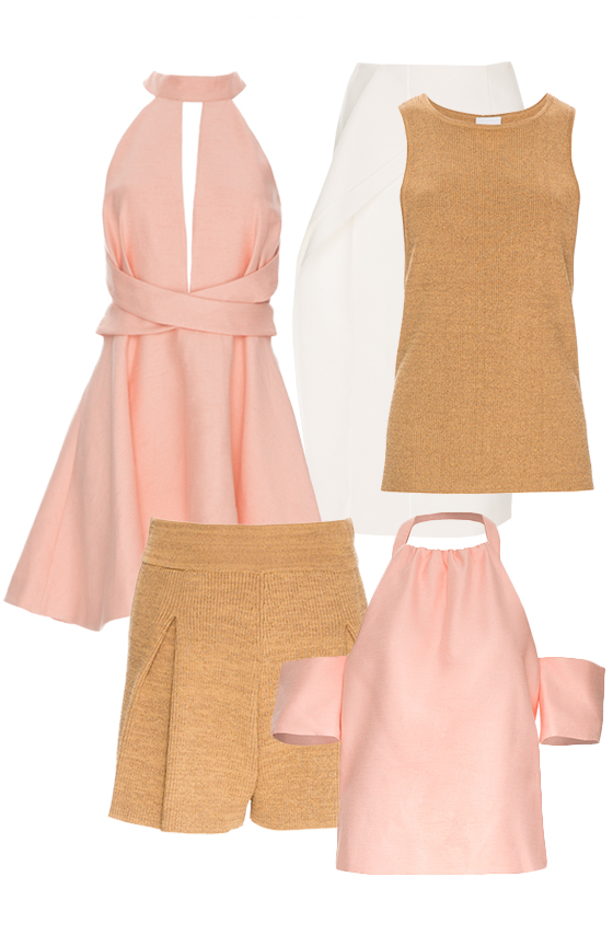 Shop C/MEO COLLECTIVE blush.