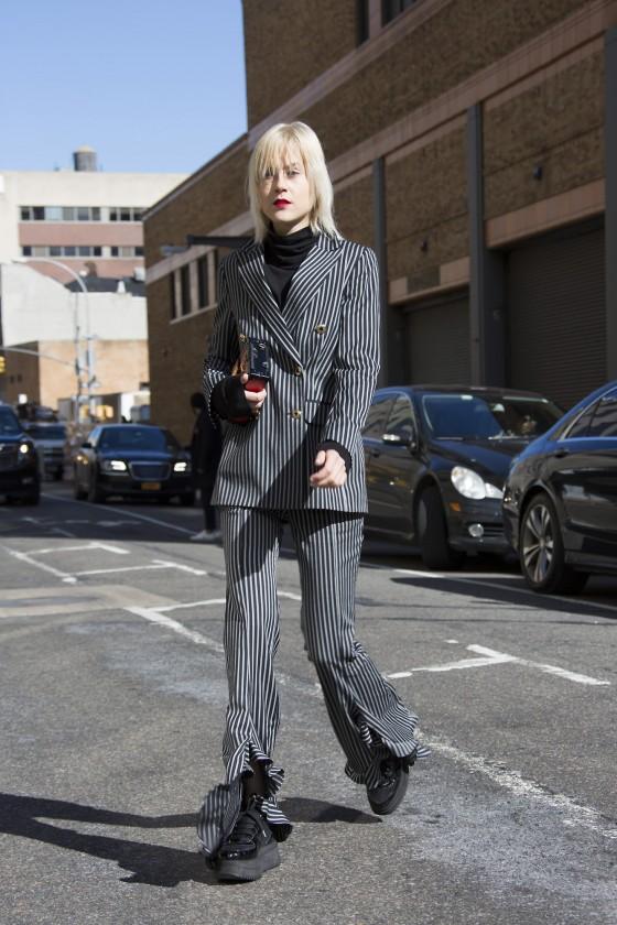 // AW16 NYFW Street Style //