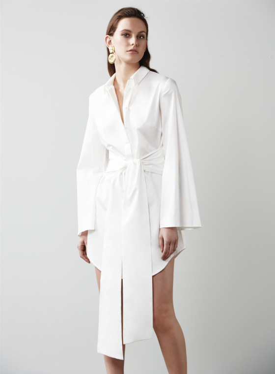 Shop C/MEO COLLECTIVE Fiction Shirt Dress