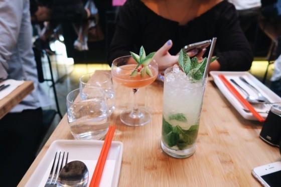 Mocktails - Muay Thai & Mojito.