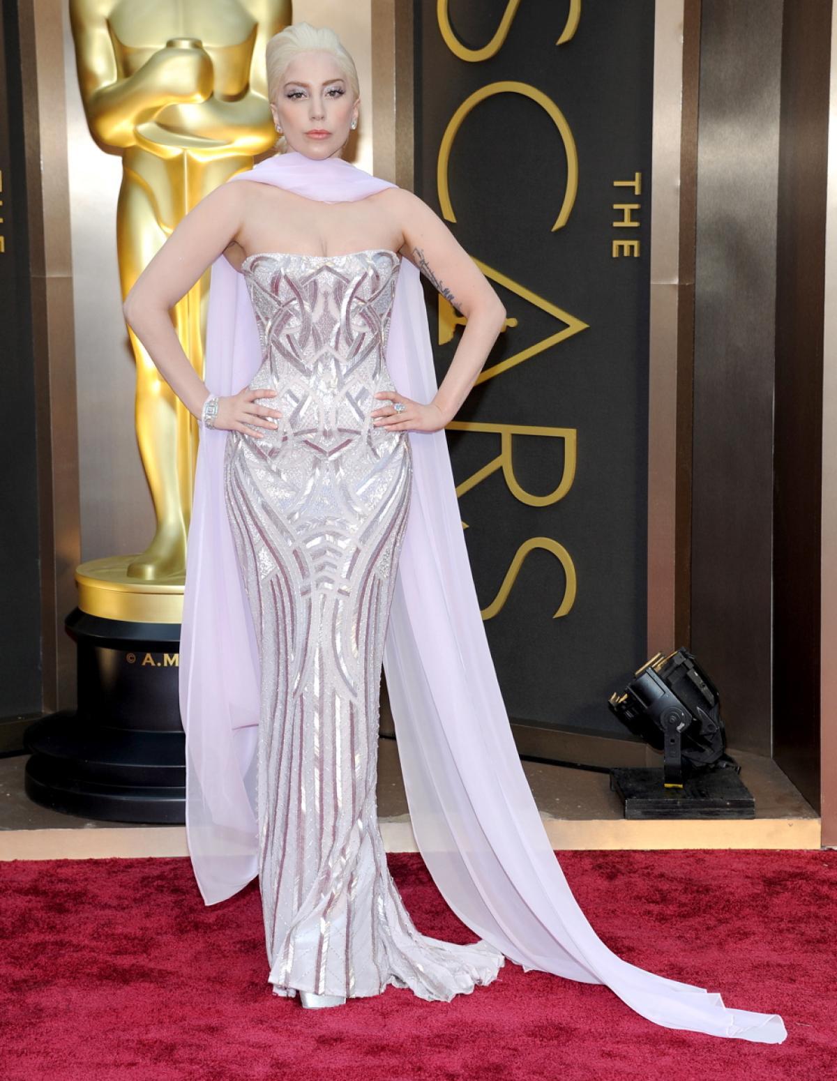 lady-gaga 2014 versace nydailynews
