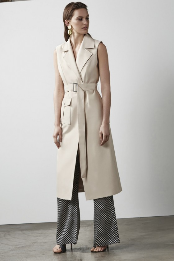 Shop C/MEO COLLECTIVE White Walls S/S Trench.
