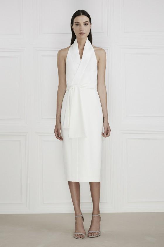 Shop Keepsake The Label White Shadows Dress.