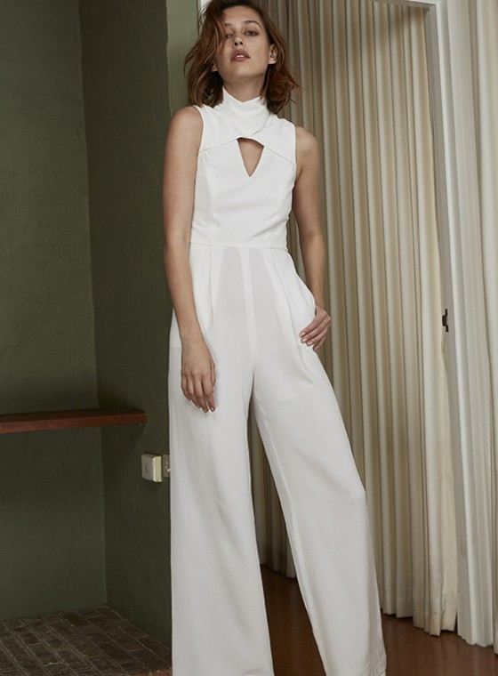 Shop C/MEO COLLECTIVE Haunting Feelings Jumpsuit.