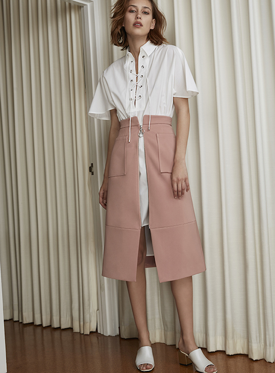 Shop C/MEO COLLECTIVE Distand Land Skirt.