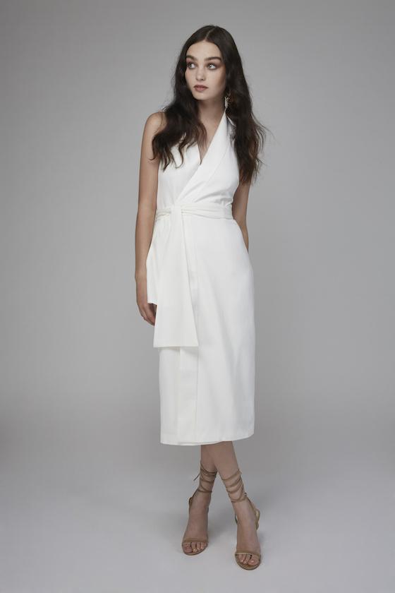 Shop Keepsake White Shadows Dress.