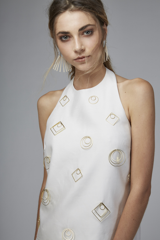 Shop C/MEO COLLECTIVE Charged Up Halter.