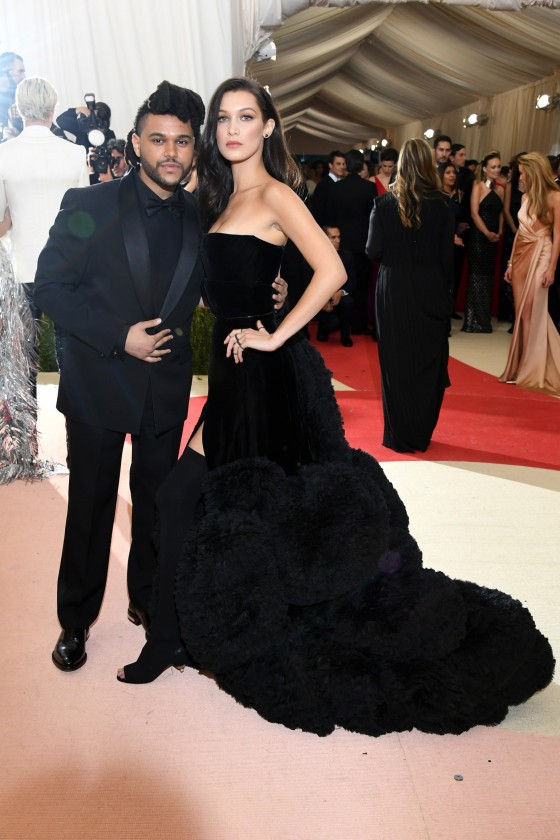 The Weeknd & Bella Hadid in Givenchy.