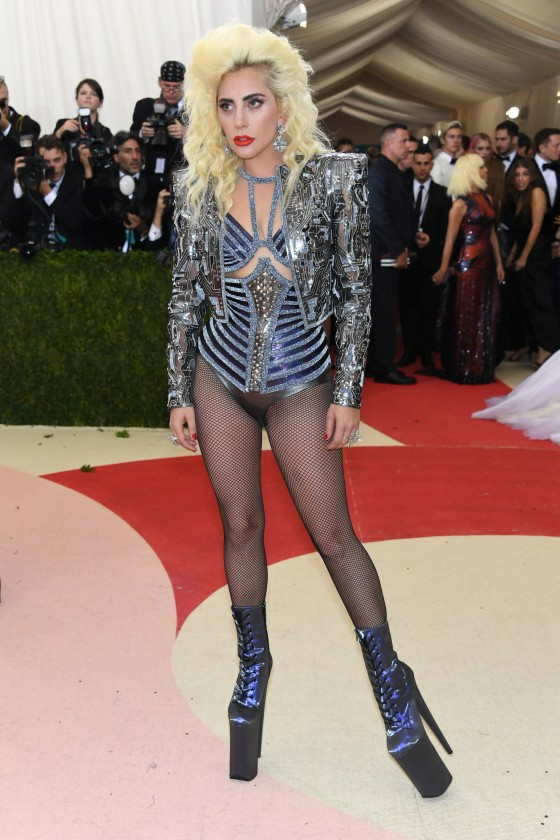 Lady Gaga in Versace.