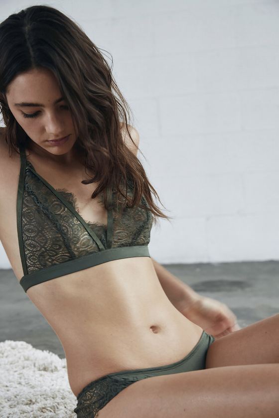 Shop Keepsake Intimates Abby Bralette and Brief.