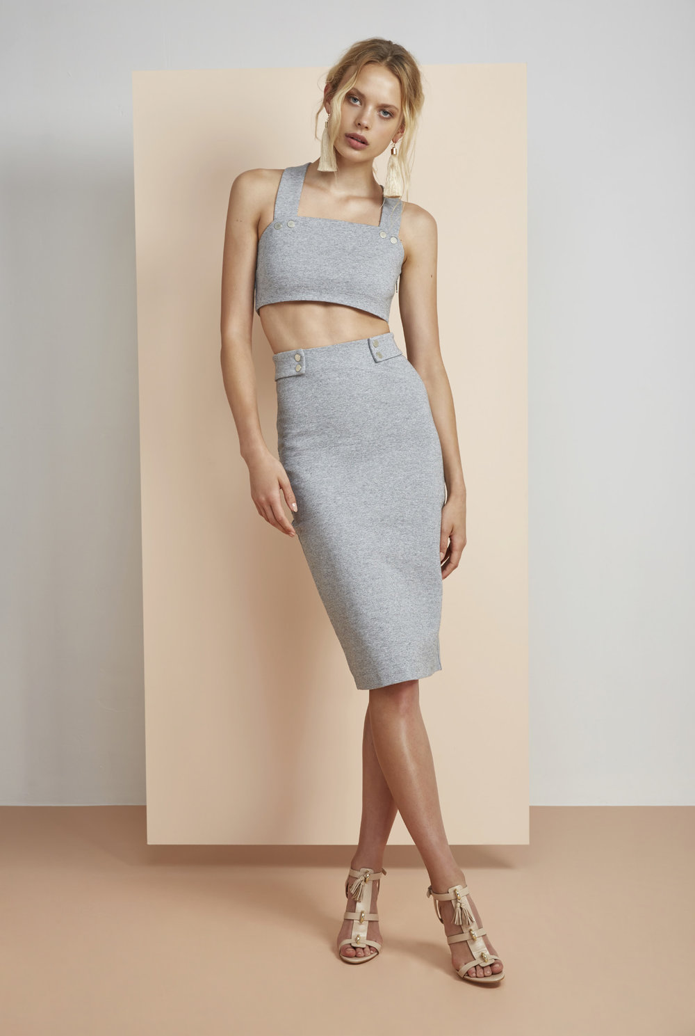 Hans Crop Top + Skirt.