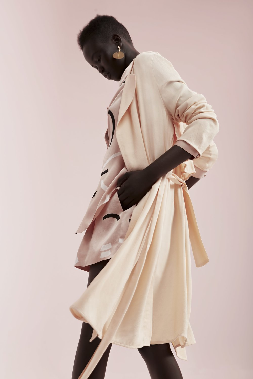 Finders Leandro Soft Trench (coming soon), C/MEO  Back To You Shirt  +  Short .