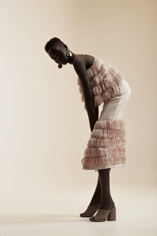C/MEO  Slow Burn Top + Skirt .