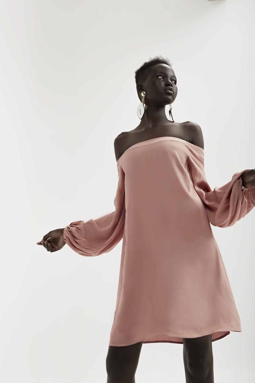 Keepsake  Celestial L/S Mini Dress .