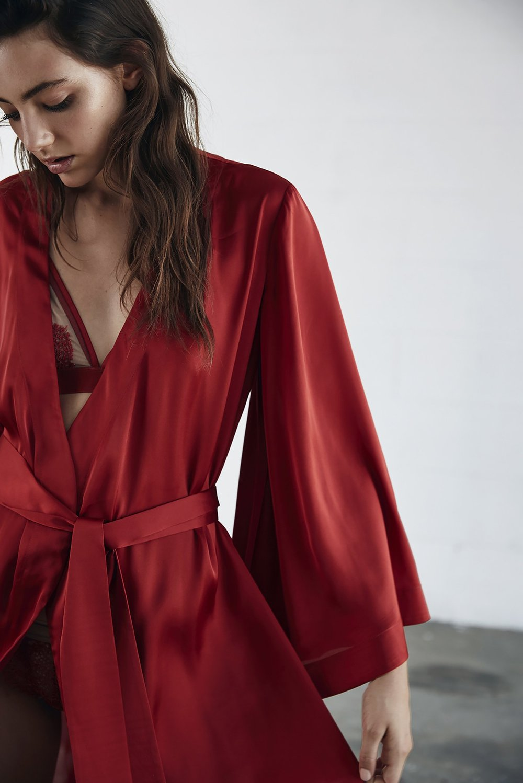 Keepsake Intimates Late Night Robe.