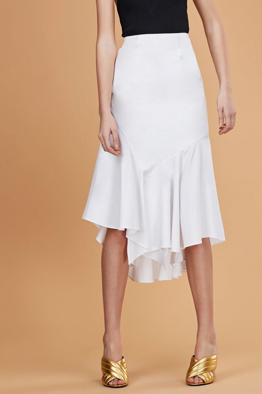 C/MEO COLLECTIVE Into You Shirting Skirt.