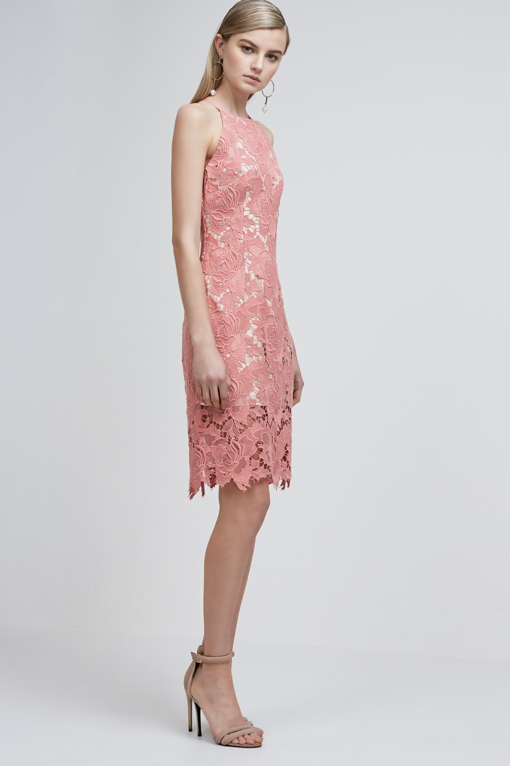 Keepsake The Label Lonely Lover Lace Dress.