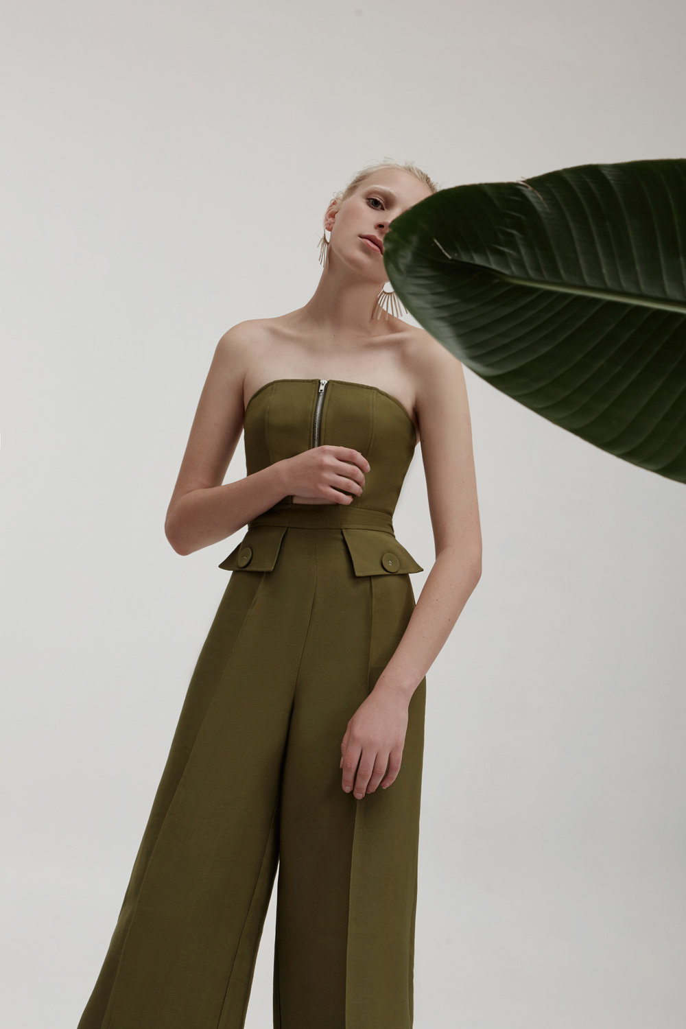 C/MEO COLLECTIVE No Limit Jumpsuit.